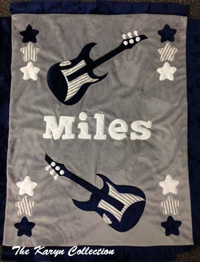 Miles Guitar Blanket