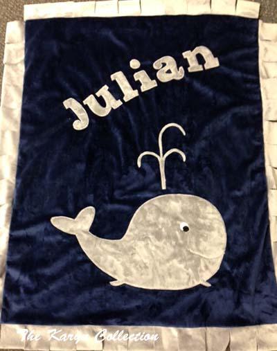 Basic Whale Blanket