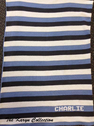 *Charlie's 100% COTTON Stroller Blanket
