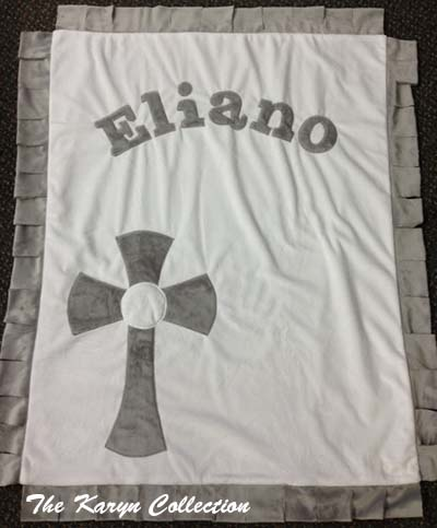 Basic Christening Blanket