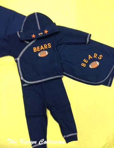 Chicago Bears 4-piece
