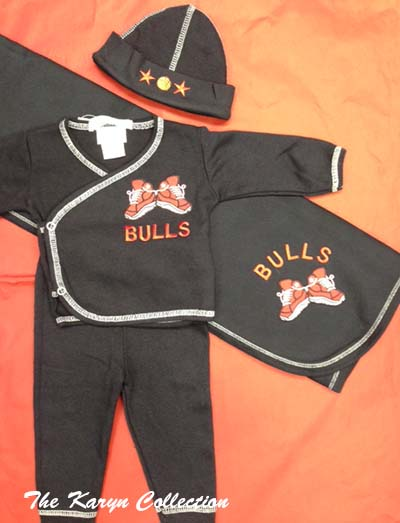 "Chicago Bulls ""Take Me Home"" Outfit"