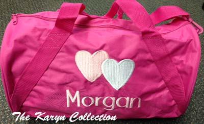 Morgan's Hot Pink Duffle Bag