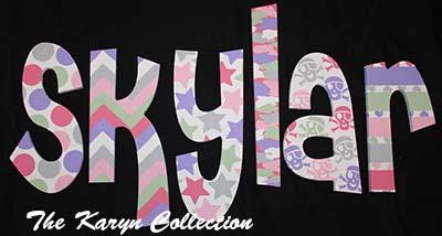Skylar's Wall Letters