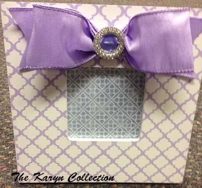 Lavender Trellis Frame