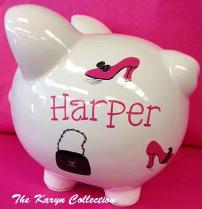 Harper's Dress-Up Piggy Bank