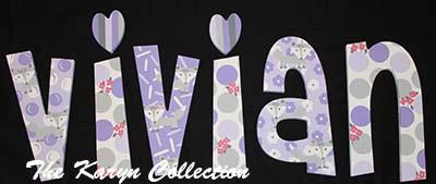 Vivian's Wall Letters