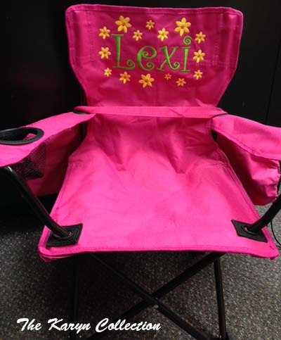 Hot Pink Stadium Chair