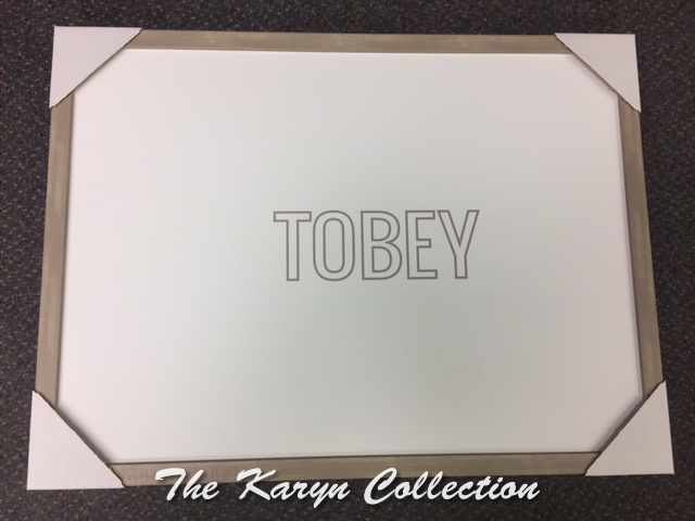 Tobey's rectangle Magnetic Board