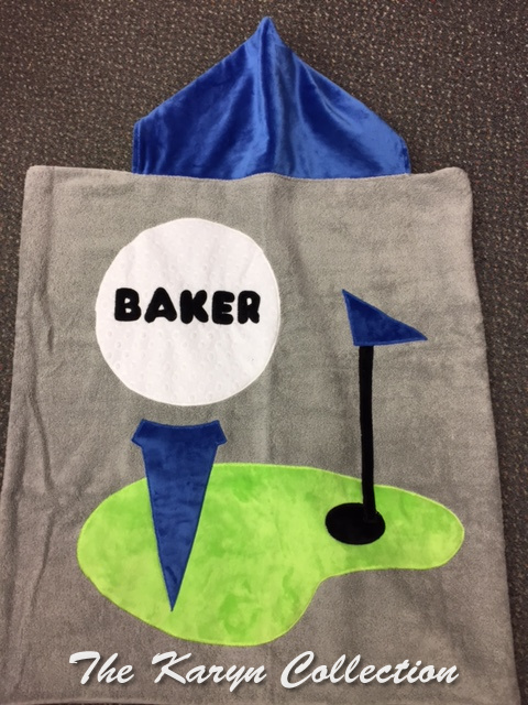 Baker's Golf Toddler Towel