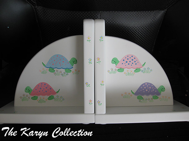 Turtles Bookends