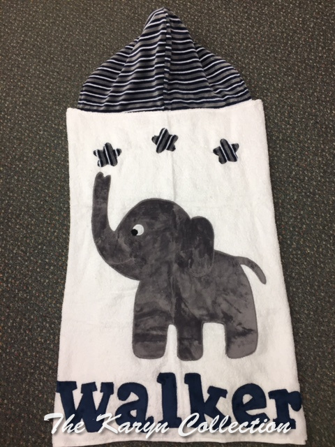 Walker's Elephant Toddler Hooded Towel