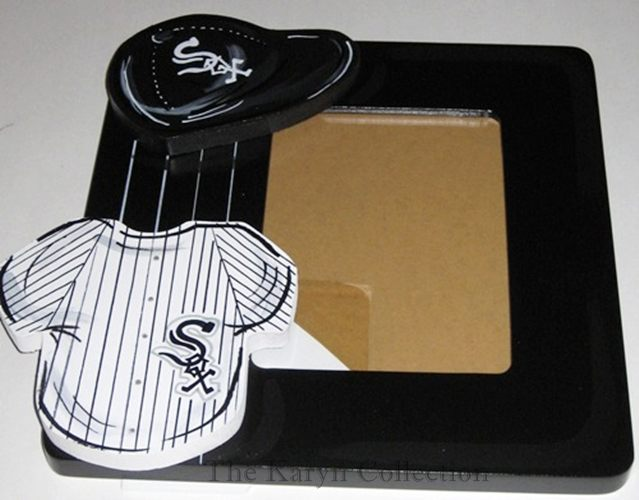 White Sox Hand Painted Picture Frame