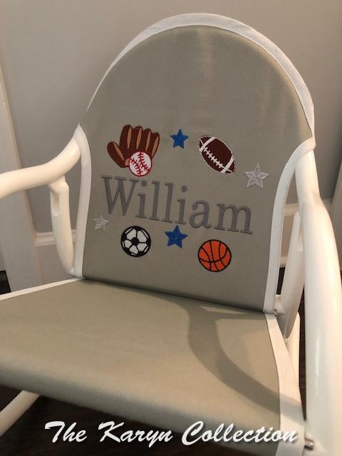 William's Sports Rocking Chair