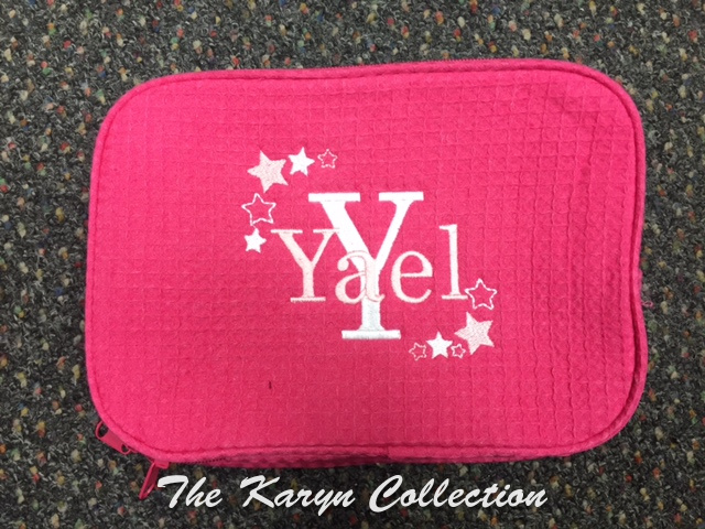 Yael's hot pink ALL-Stars Waffle Bag