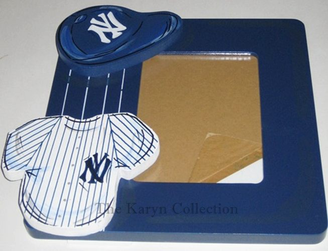Yankees Hand Painted Picture Frame
